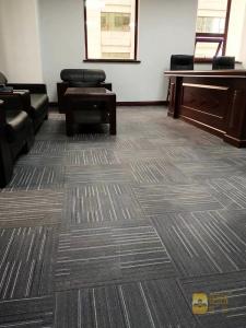 华安保险办公室 LVT片材地毯纹 (1)