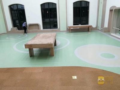 各地幼儿园 纯色 木纹 多层 同透 (11)