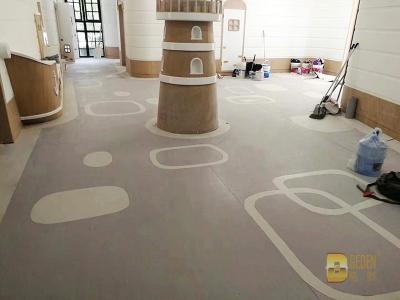 各地幼儿园 纯色 木纹 多层 同透 (4)