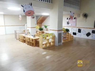 各地幼儿园 纯色 木纹 多层 同透 (7)