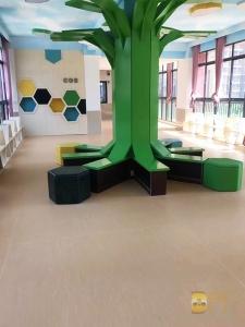 各地幼儿园 纯色 木纹 多层 同透 (9)